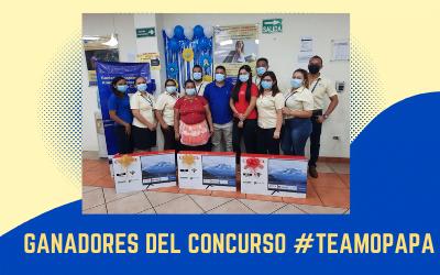 GANADORES DEL CONCURSO #TeAmoPapá