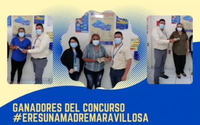 GANADORAS DEL CONCURSO #EresUnaMadreMaravillosa